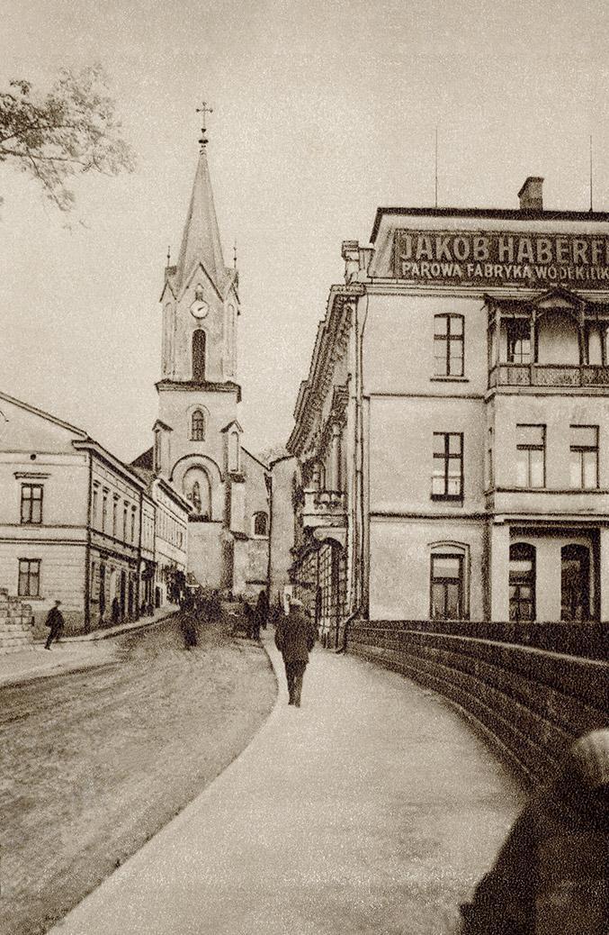 Jakob Haberfeld Oświęcim Parowa Fabryka Wódek